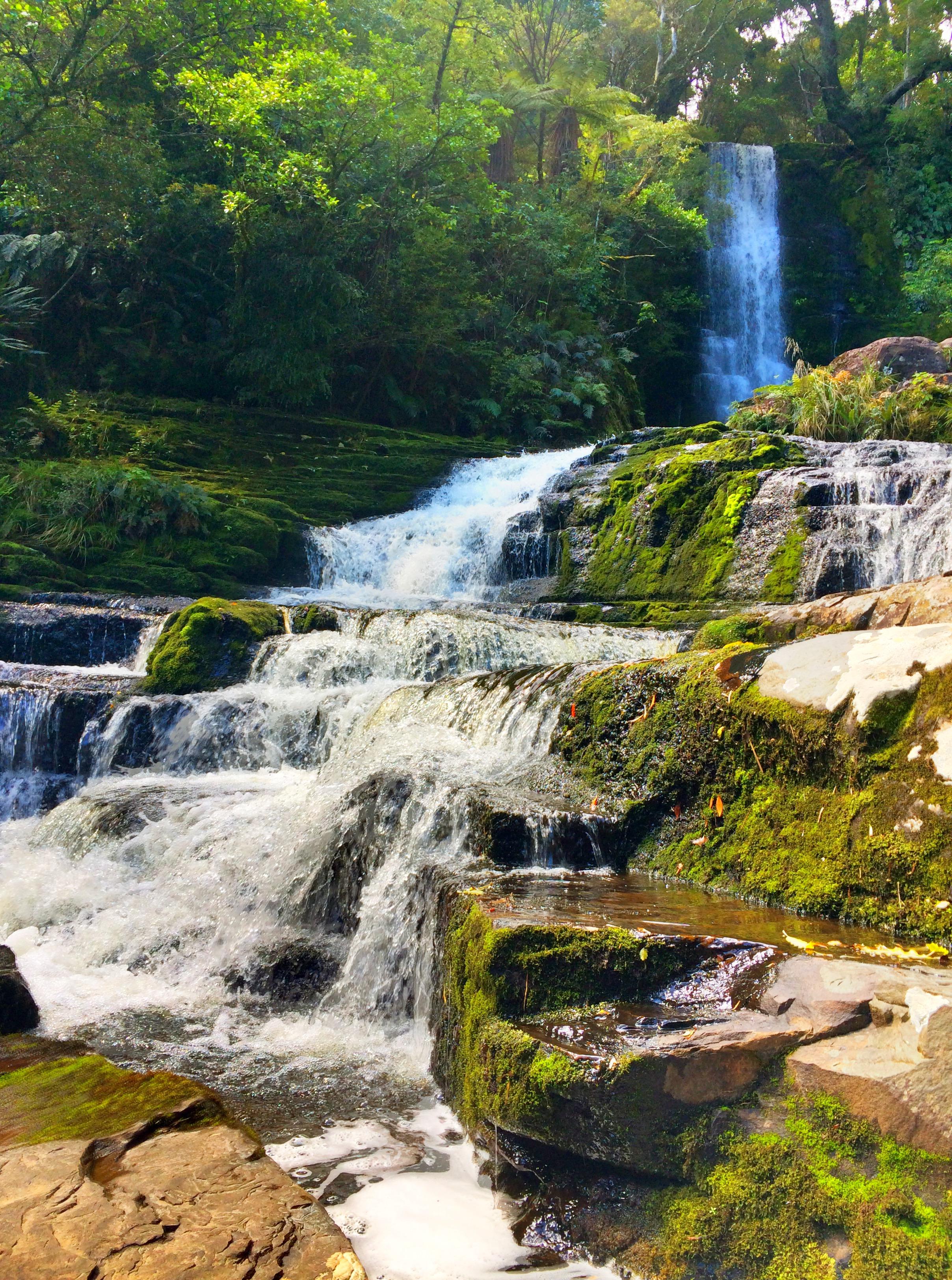 mclean falls, waterfalls of new zealand, south island waterfalls, waterfalls in the catlins