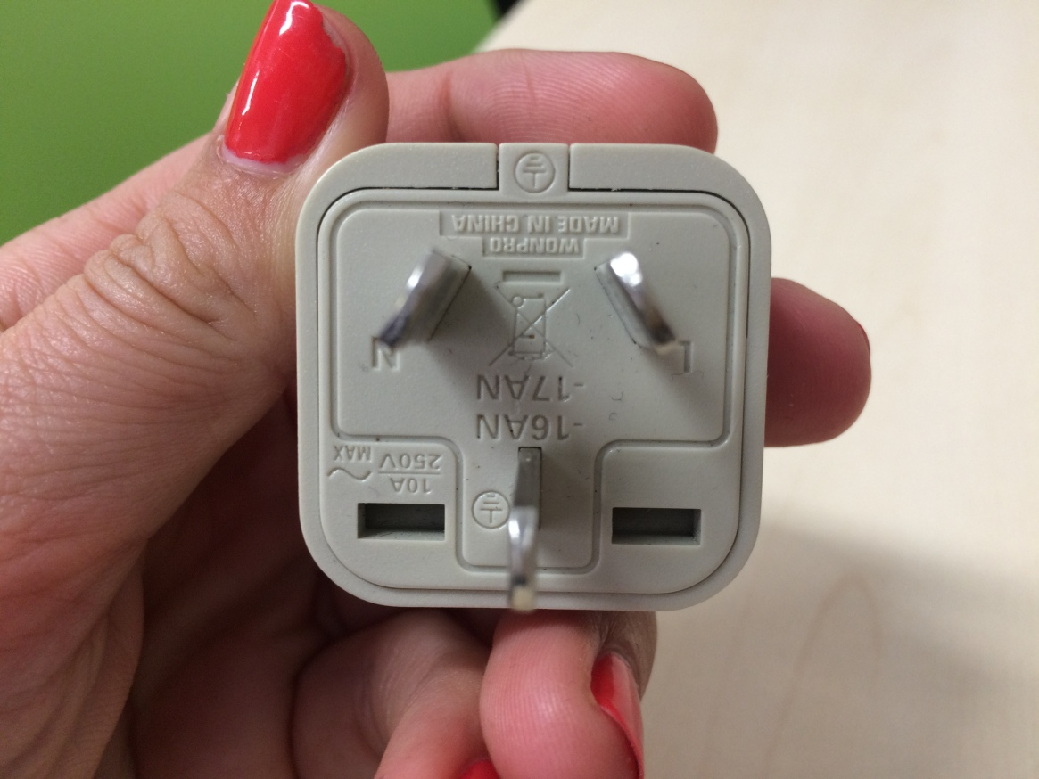 power adaptor for New Zealand