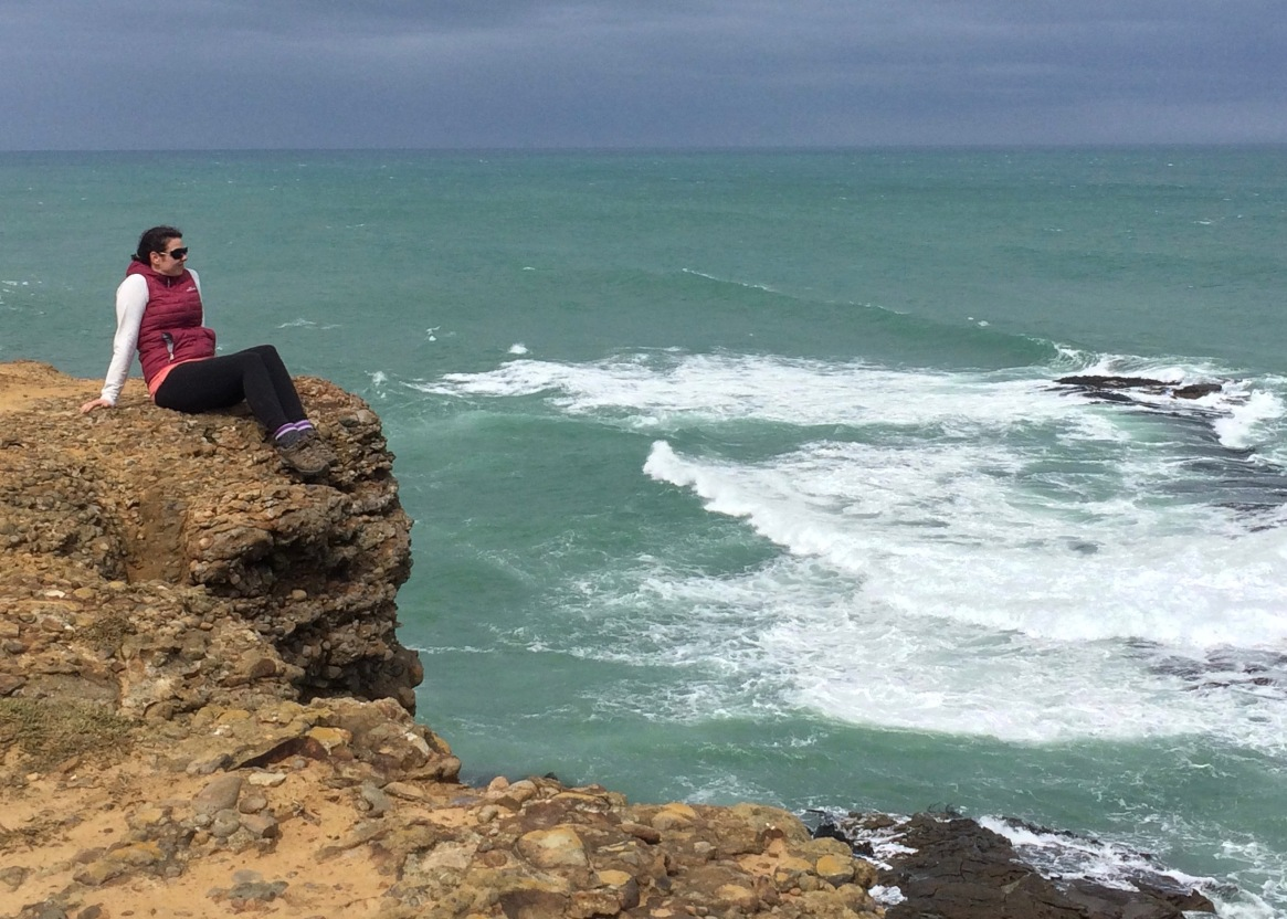 Slope Point, the southernmost point on New Zealand's South Island