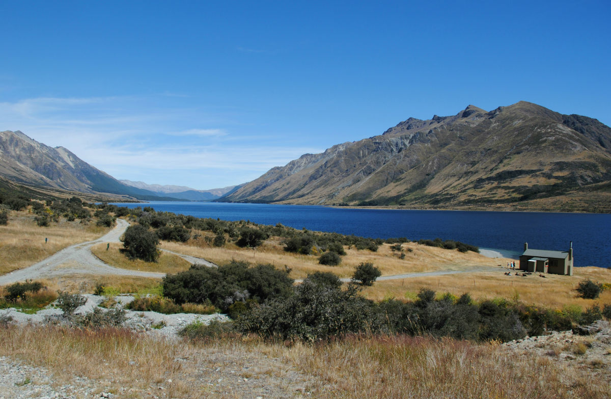 The Mavora Lakes, in Southland, are a nice New Zealand camping and hiking spot